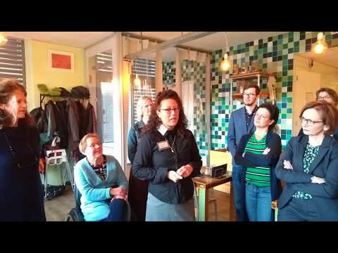 Maureen Bol, tekstschrijver, bij Open Coffee Nijmegen