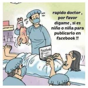 Facebook cartoon