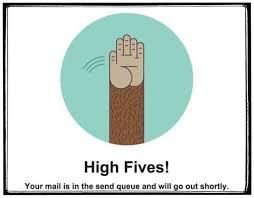 High Fives MailChimp