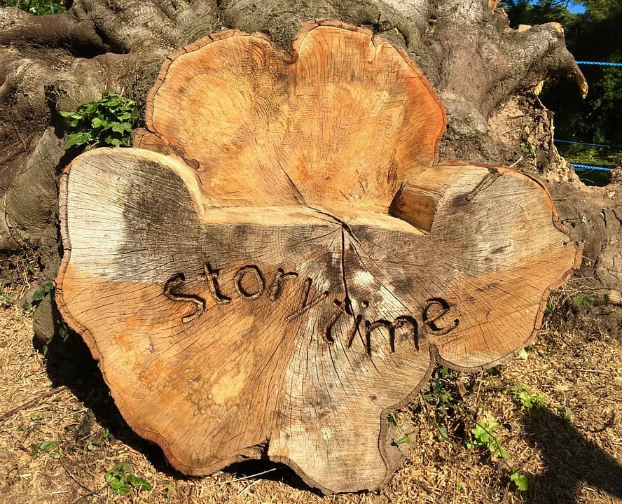 tijd voor storytelling