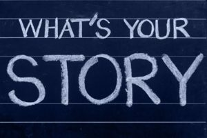 Krijtbord Storytelling