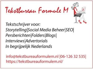 Advertentie Formule M