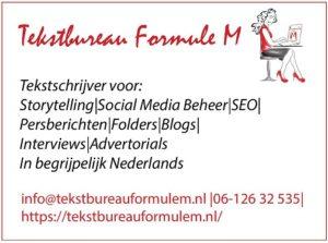 Advertentie Formule M