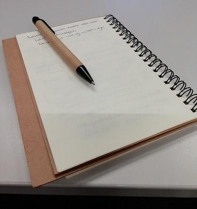 Pen en schrift