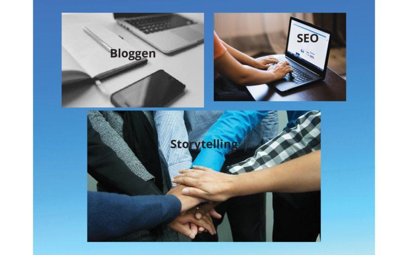 Bloggen Storytelling SEO